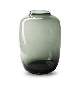 4AT Glas kleur Vaas Noah d25*35cm x 1