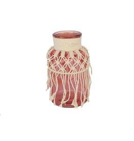 HD Vase Macrame Tapestry D14.0h26.5 x 8