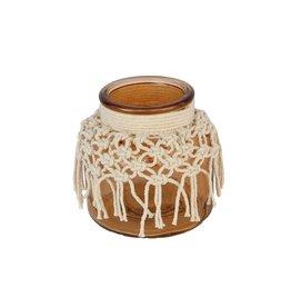 HD Vase Macrame Treasure D12.0h11.5 x 16