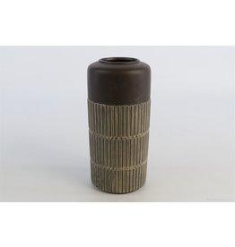 HD Vase Scraped D10.0h21.5 x 18