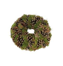 HD Wr. Pine Green Moss D28 H9 x 4
