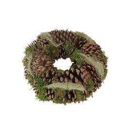 HD Wr. Pine Hair Moss d25.0h9.0 x 5