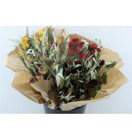 GF Dried Bouquet Roos Nr 7 Summer Feeling x 8