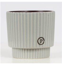 VDP Dec Pc02-305 Ivy Ceramics Green Grey x 6