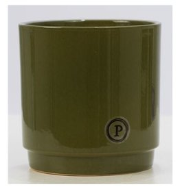 VDP Dec Pc02-316 Juliette Ceramics Matt/shiny Green x 6