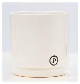 VDP Dec Pc02-319 Juliette Ceramics Matt/shiny White x 6