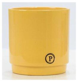 VDP Dec Pc02-343 Juliette Ceramics Matt/shiny Yellow x 6