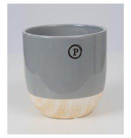 VDP Dec Pc02-345 Emily Ceramics Illusion Grey x 6