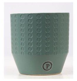 VDP Dec Pc02-378 Eline Ceramics Matt Green x 6