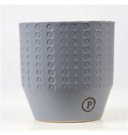 VDP Dec Pc02-379 Eline Ceramics Matt Grey x 6