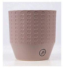 VDP Dec Pc02-380 Eline Ceramics Earth Matt Pink x 6