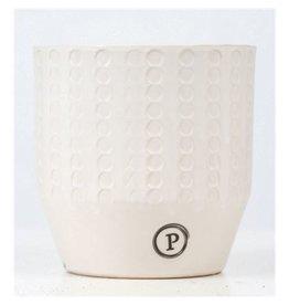 VDP Dec Pc02-381 Eline Ceramics Matt White x 6