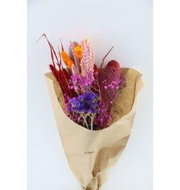 GF Dried Bouquet Confetti Pink x 10