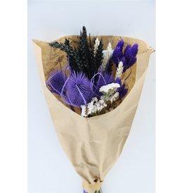 GF Dried Bouquet Confetti Purple x 10