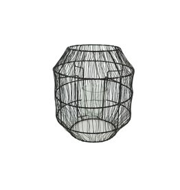HD Lant. Wire Tangle W. Glss D23.0h27.0 x 8