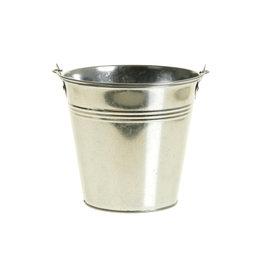 DF Bucket zinc Ivydale d10xh9 silver x 30