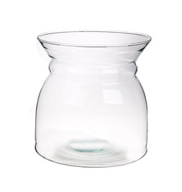 DF Vase Barned d18.5xh19 clear Eco x 4