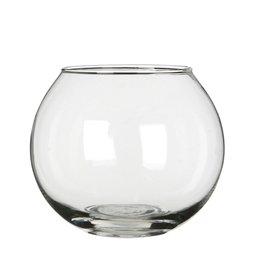 4AT Glas Kogelvaas d24/13*20cm x 3
