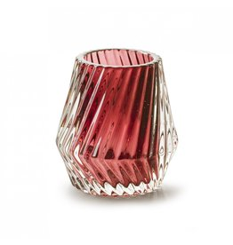 4AT Glas kleur Glas Biaritz d8*8cm x 12
