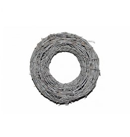 4AT Krans d50cm Marilia branch frosted x 1