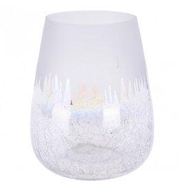 4AT Glas kleur Glas frosted d08*08cm ass x 4