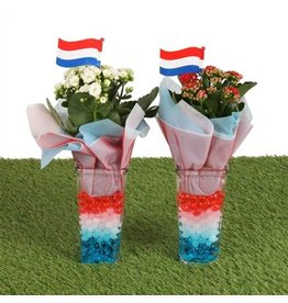 VDP Football Indoor Special: Square Glass Nl Ø09cm Wit x 6