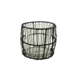 HD Waxinelichthouder Wire Tangle W. Glss Ø9.0 ↑9.0 (X 24)
