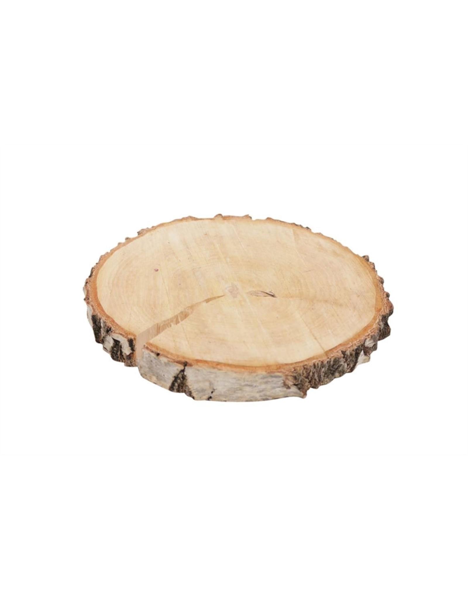HD Basic Birch Slice Rnd Ø23-26 (x 15)