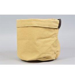 HD Plant. Plantbag Textiel Mand Oker 24X21Cm (X 18)
