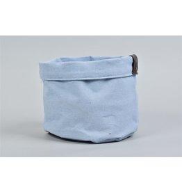 HD Plant. Plantbag Textiel Mand Old blau 18x14cm (x 36)
