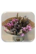 HD Boeket droogbloemen Lavendel Bq1 in hoes ↑50.0 (x 15)