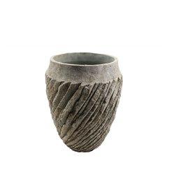 4AT Keramik Genga vaas Ø16*21cm (x 2)