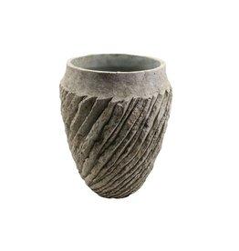 4AT Keramik Genga vaas Ø20*25cm (x 2)