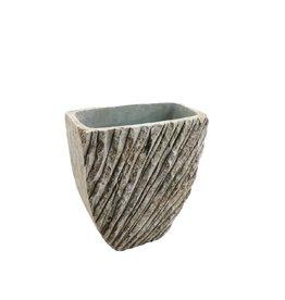 4AT Keramik Genga vaas 18*11*21cm (x 3)