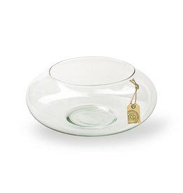 4AT Glas Eco schaal bol Ø25*10cm (x 4)