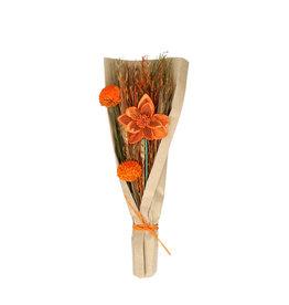 4AT Droogbloem Boeket Flat Blooms 42Cm (X 24)