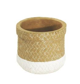 4AT Keramik Sabina pot Ø13.5*11cm (x 12)