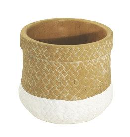 4AT Keramik Sabina pot Ø15*13cm (x 8)
