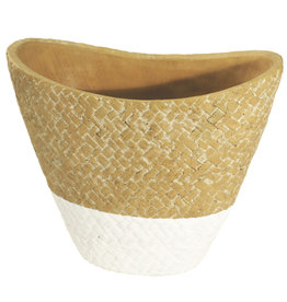 4AT Keramik Sabina pot ov 21.5*11.5*18.5cm (x 6)