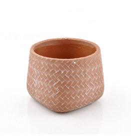 4AT Keramik Emiel pot Ø14.5*11cm (x 4)