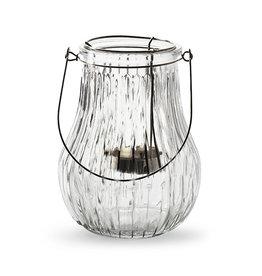 4AT Glas Windlicht+theelichth.Ø12*16cm (x 12)
