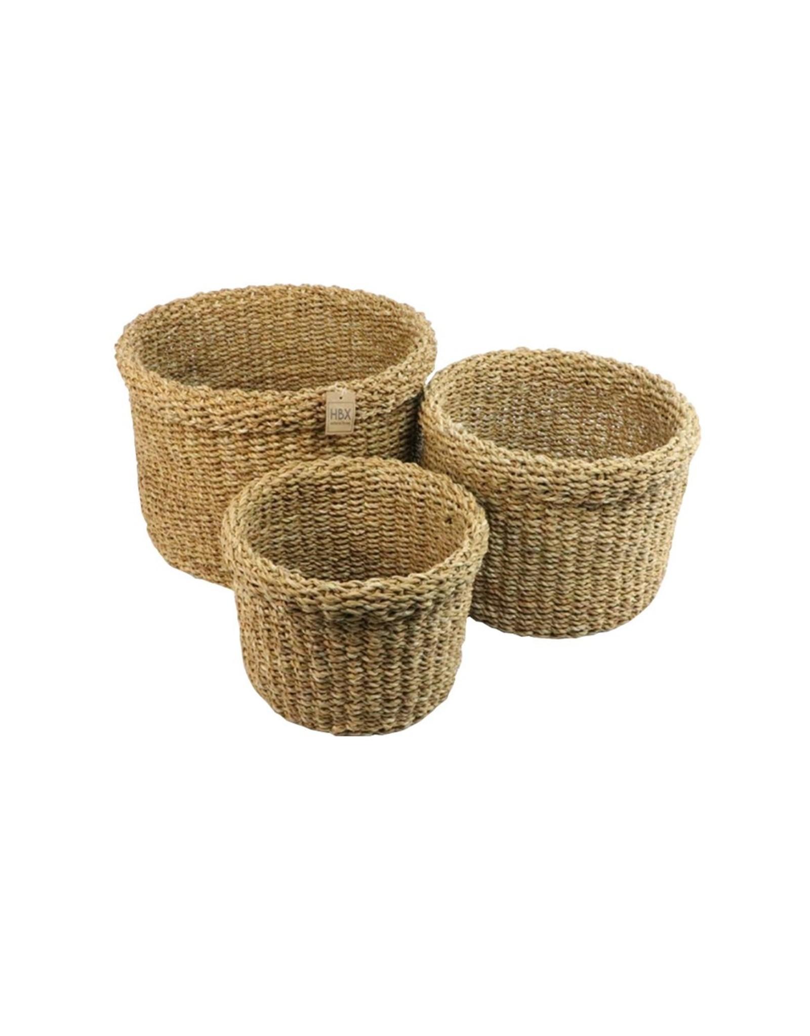 HD Bask. Manatee Grass S/3 per stuk