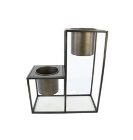 HD Plant. Step Marrak 2 Pot L42.0w21.0h50.0 ( x 2 )