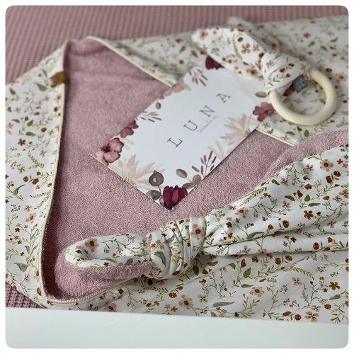 Back2yourroots Fleur Wikkeldoek - roze