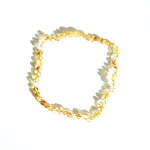 Mayli Jewels Barnsteen Ketting - Amber Honey