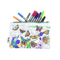 Etui Butterfly incl. Stiften