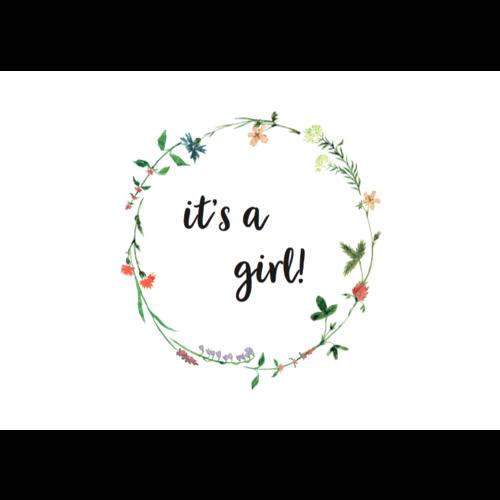 Jut & Julie Ansichtkaart It's a Girl
