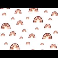 Ansichtkaart met Bruine Regenboogjes