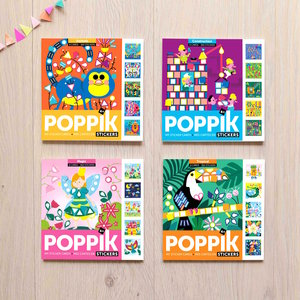 Poppik Sticker kaarten set