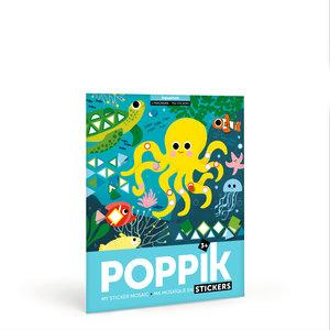 Poppik Sticker Poster Onderwater